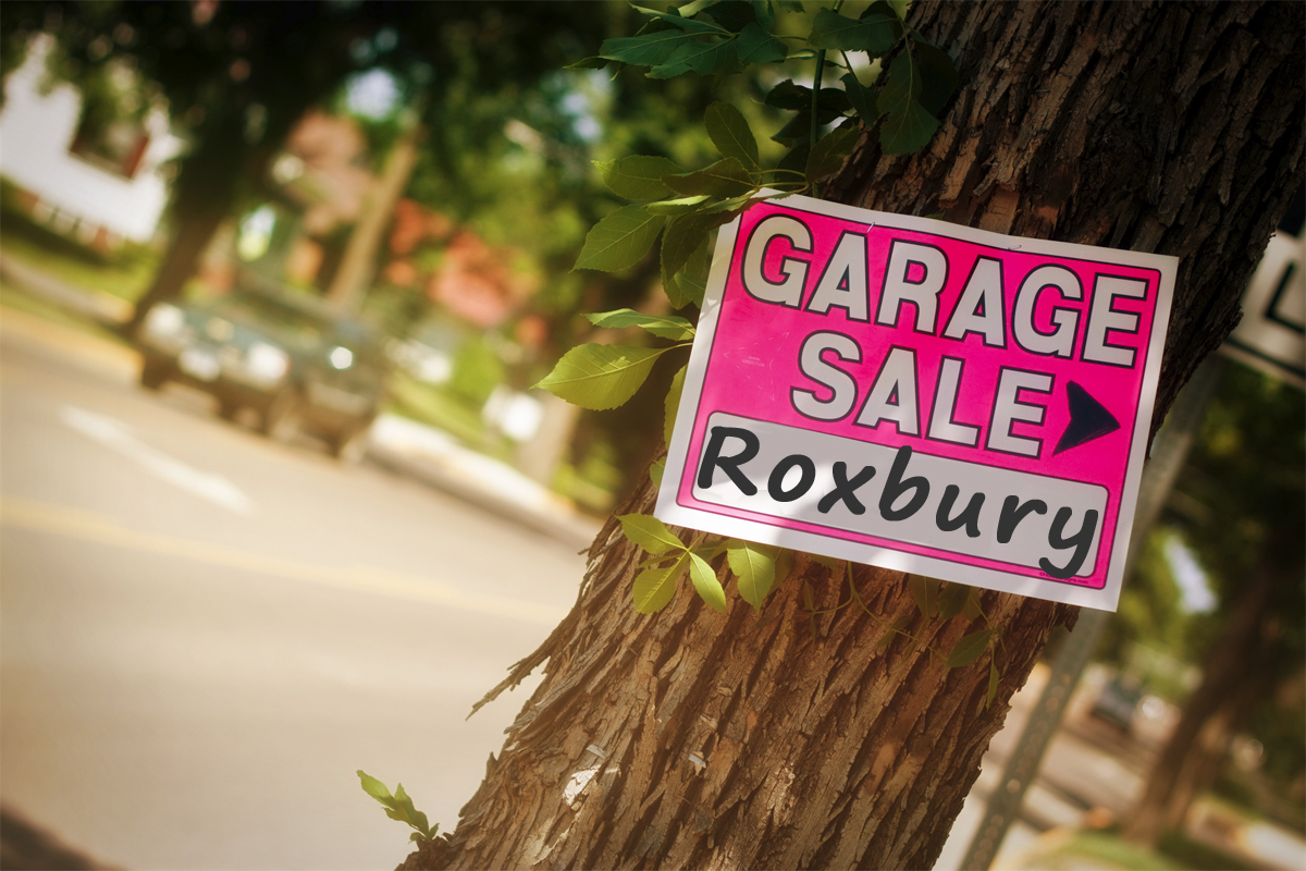 Roxbury Garage Sale